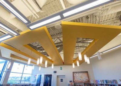 Emily Carr Library Yellow